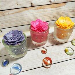 Декоративные свечи - набор ароматических свечей ручной работы, 0