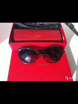Очки и аксессуары - Очки женские новые Cartier копия люкс коричневые…, 0