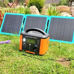 Зарядные устройства и адаптеры - Солнечная батарея 45Вт складная с Type-C и USB, 0