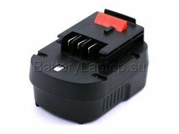 Аккумуляторы и зарядные устройства - Аккумулятор для шуруповерта Black & Decker A12E, 0