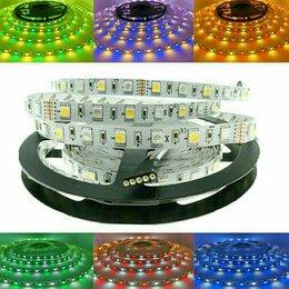 Светодиодные ленты - Светодиодная лента SMD 5050 rgbw 60 led/m комплект, 0
