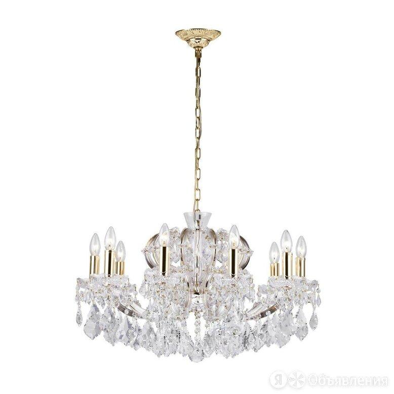 Подвесная люстра Dio DArte Asfour Diamante E 1.1.10.200 G по цене 105792₽ - Люстры и потолочные светильники, фото 0
