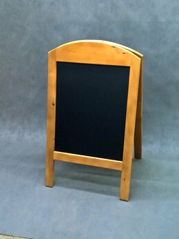 Рекламные конструкции и материалы - Меловой деревянный штендер двухсторонний для…, 0