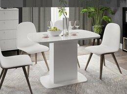 Мебель для кухни - Стол обеденный Соренто(белый глянец), 0