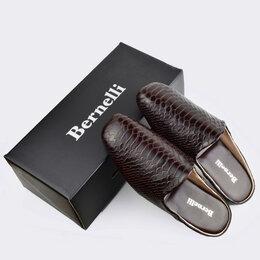 Домашняя обувь - Мужские тапочки Дамиано, 0