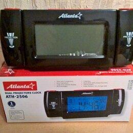 Часы настольные и каминные - Часы электронные с проекторами ATH-2506. НОВЫЕ., 0