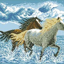Дизайн, изготовление и реставрация товаров - Алмазная мозайка - Лошади, 0