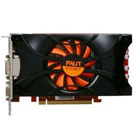 Видеокарты - Видеокарта PCI-E 1Gb GeForce Gtx560Ti Palit NE5X56T01102-1140F (с дефектом), 0
