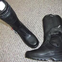 Ботинки - Мотоботинки натуральная кожа (мотоботы) новые., 0