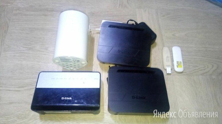 Роутеры 3G 4G Wi-Fi с модемами комплектом и раздел по цене 800₽ - 3G,4G, LTE и ADSL модемы, фото 0