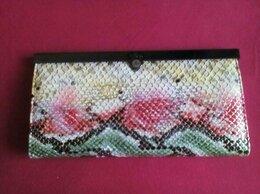 Кошельки - Новый кожаный кошелек 19х10 см, 0