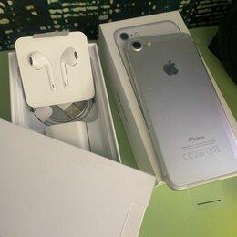 Мобильные телефоны - Iphone 7 silver 32GB новый запечатанный в пленках, 0
