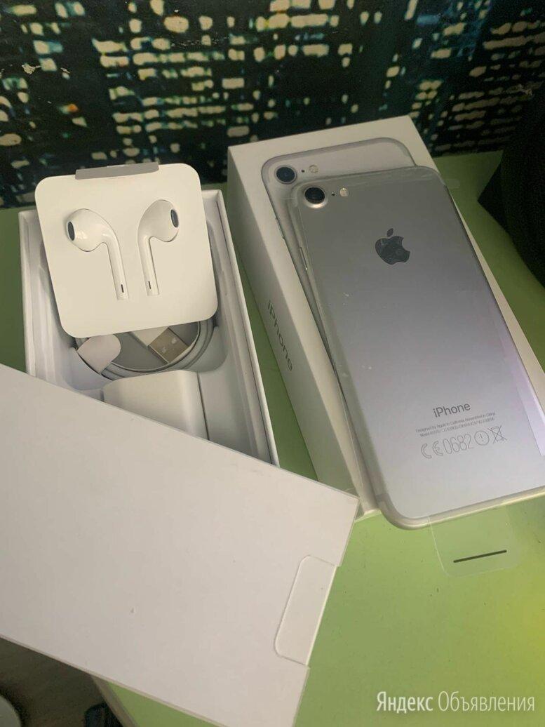 Iphone 7 silver 32GB новый запечатанный в пленках по цене 14000₽ - Мобильные телефоны, фото 0