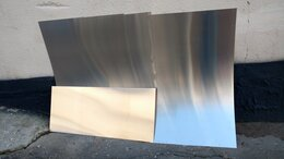 Металлопрокат - Алюминиевый лист 1200х500х0.8 мм, 0