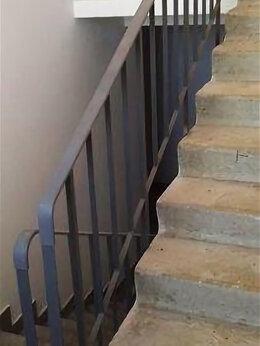 Лестницы и элементы лестниц - ЛО-13 ограждение лестниц серии 1.050.9-4.93, 0