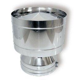 Дымоходы - Дефлектор DDH D150 с изол.50мм, нерж321/нерж304…, 0