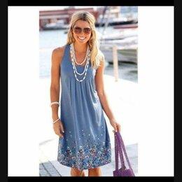 Платья - Платье летнее для беременных, 50 размер, 0