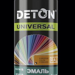 Аэрозольная краска - Краска аэрозольная эмаль алкидная атмосферостойкая 520мл DETON (КОД:738532), 0