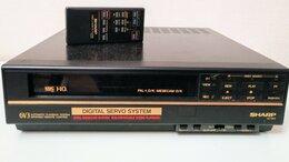 Видеомагнитофоны - Видеомагнитофон Sharp VC-6V3DP, 0