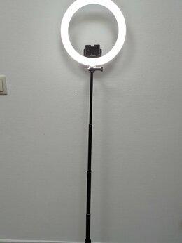 Фотоаппараты - Световое кольцо со штативом D26см (штатив 100 см), 0