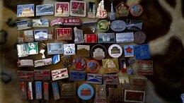 Жетоны, медали и значки - значки города  москва ленинград суздаль владимир, 0