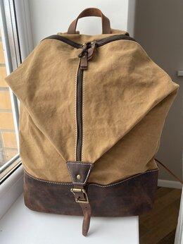 Рюкзаки - Рюкзак холщовый новый, 0