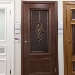 Межкомнатные двери - Двери шпонированные, 0
