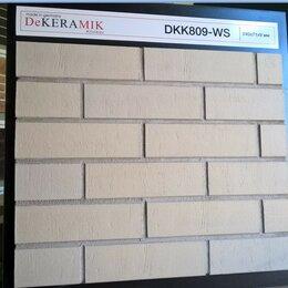 Клинкерная плитка - Плитка DKK-809-WS под кирпич, фасадная, уличная, 0