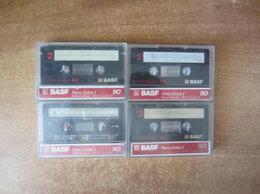 Музыкальные CD и аудиокассеты - Аудиокассеты BASF Ferro Extra I 90 с записями, 0