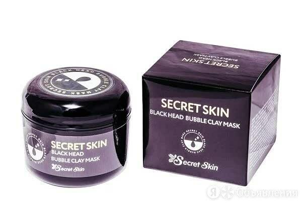 Маска для лица пузырьковая Secret Skin Black Head Bubble Clay Mask 100 мл по цене 1018₽ - Маски, фото 0