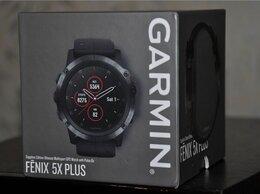 Умные часы и браслеты - Garmin Fenix 5X Plus Sapphire (новые, запечатаны), 0