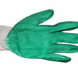Средства индивидуальной защиты - Перчатки х/б с латекс покрытием, обливная ладонь, 0
