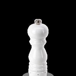 Солонки, перечницы и ёмкости для специй - Мельница Paris Peugeot для соли 18 см, белый лак (27810), 0