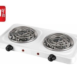 Плиты и варочные панели - Плита электрическая 2-х конф. спираль (2000 Вт), 0