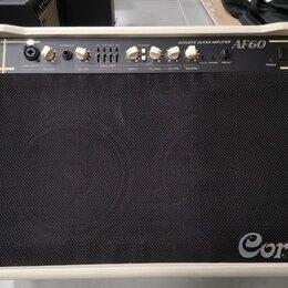 Гитарное усиление - Новый комбоусилитель для акустики Cort AF60-EU, 0