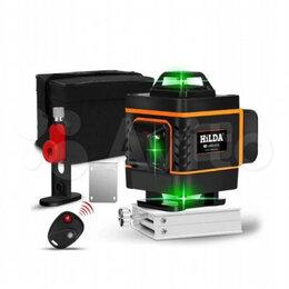 Измерительные инструменты и приборы - Лазерный уровень нивелир 3D 12 линий зеленый луч, 0