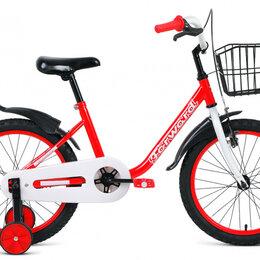 Трехколесные велосипеды - Детский велосипед Barrio 18 красный (2019), 0