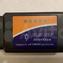 Диагностические сканеры и тестеры - Автосканер ELM 327 OBD2 V1.5 Оригинал, 0