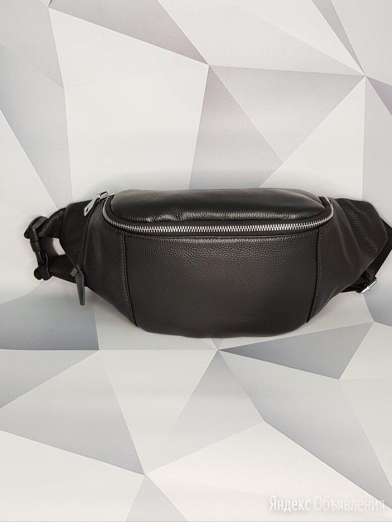 Поясная сумка из натуральной кожи по цене 2600₽ - Сумки, фото 0