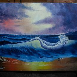 """Картины, постеры, гобелены, панно - Картина на холсте """"Волна"""", 0"""