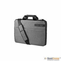 Аксессуары и запчасти для ноутбуков - Сумкa для ноутбука 15.6 HP Signature Slim Topload Grey, 0