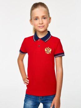 Футболки и топы - Детские футболки - поло с гербом России красные…, 0