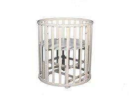 Кроватки - Кровать Incanto Mimi 7 в 1 колеса (Слоновая кость), 0