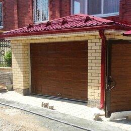 Заборы, ворота и элементы - Ворота гаражные Дорхан 3000х3000, 0