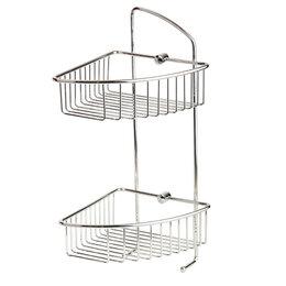 Полки, шкафчики, этажерки - Полка 180х200х420 Basket Veragio VR.GFT-9037.CR, 0