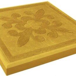 Тротуарная плитка, бордюр - Тротуарная плитка 300*300*30 краковский квадрат желтая, 0