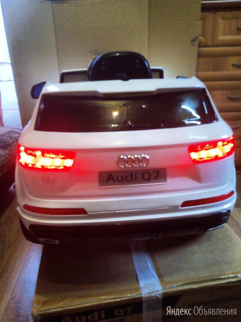 Электромобиль Audi Q7 luxury лицензионная по цене 23000₽ - Электромобили, фото 0