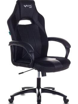 Компьютерные кресла - Геймерское кресло Бюрократ VIKING 2 AERO Black, 0