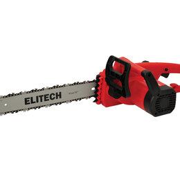 Электро- и бензопилы цепные - Электропила цепная Elitech ЭП 2000/16П, 0