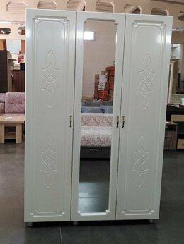 Шкафы, стенки, гарнитуры - Шкаф виктория платяной 3 ств. с зеркалом, 0